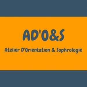 Logo AD'O&S pour illustrer les ateliers pratiqués par Laurence Coiffard